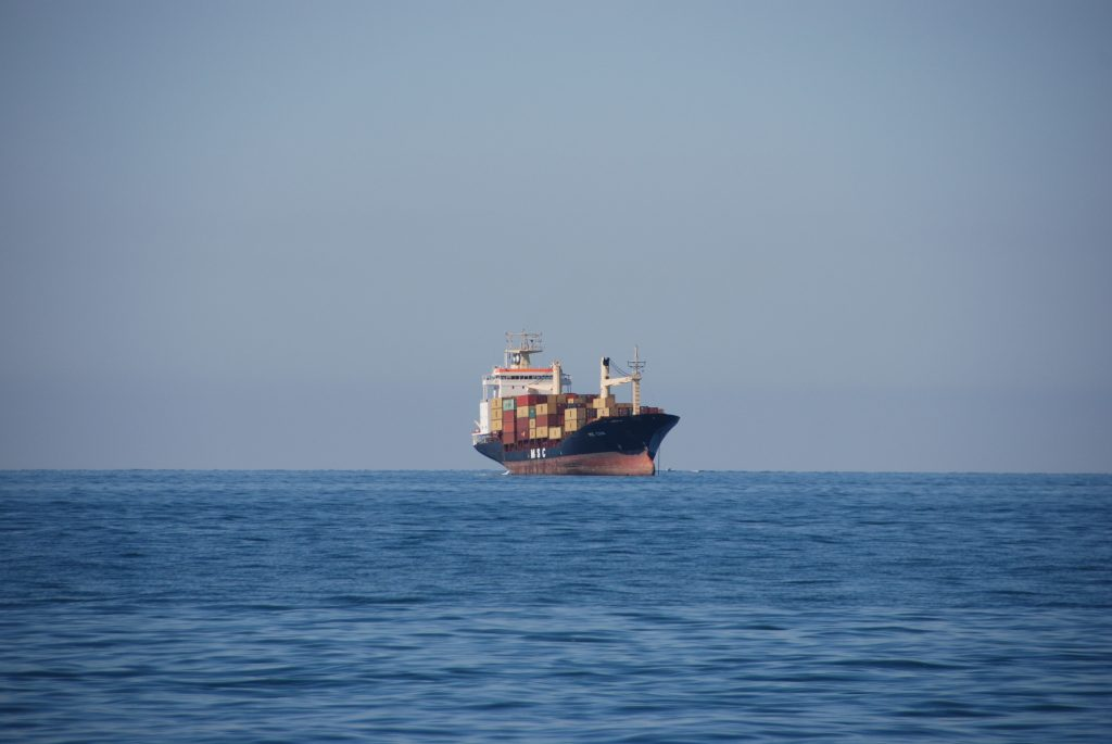 MSC container ship horizon